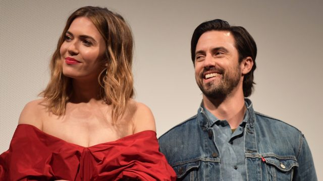 AUSTIN, TX - MARCH 12: Mandy Moore and Milo Ventimiglia attend the