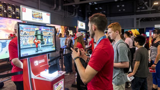 Nintendo at SXSW Gaming 2017 - Photo by Merrick Ales