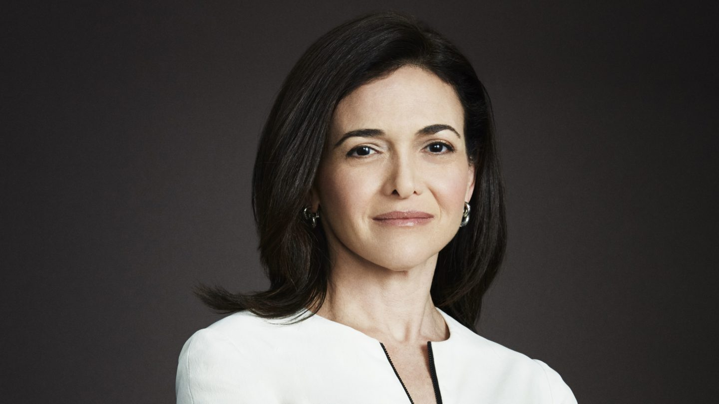 2017 me Convention Keynote, Sheryl Sandberg – Photo courtesy of the speaker