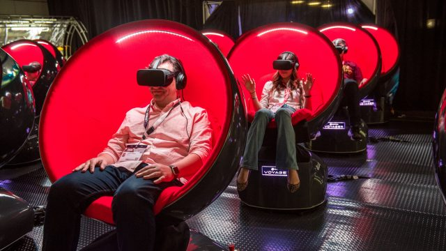 2017 SXSW VR Experience – Photo by Merrick Ales
