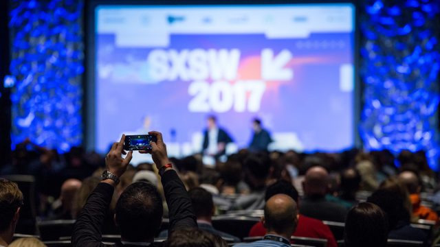 2017 SXSW Conference Session, Beyond the Screens: the Ubiquity of Connectivity – Photo by Errich Petersen