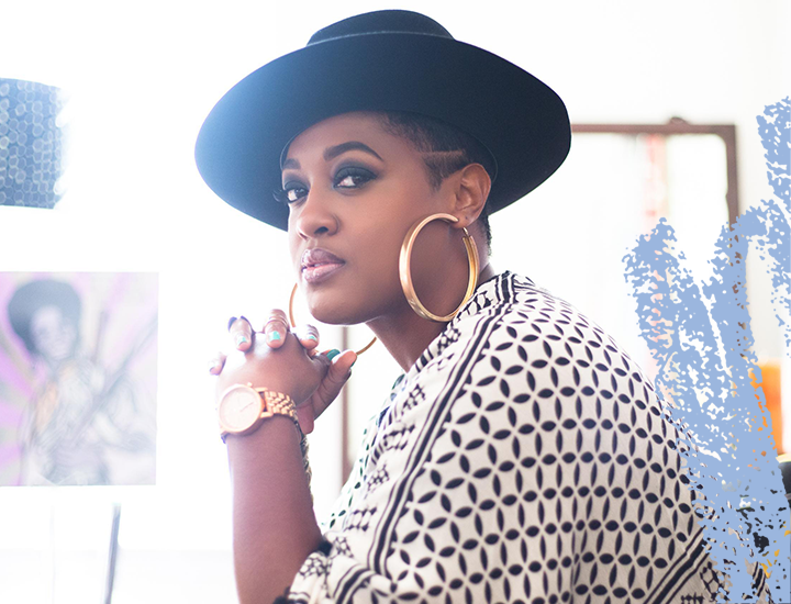2018 Showcasing Artist, Rapsody – Photo by Creative Silence