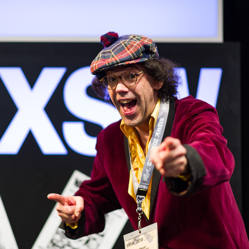 Nardwuar - Photo by Tina Rataj