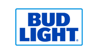 Bud Light official beer sponsor logo
