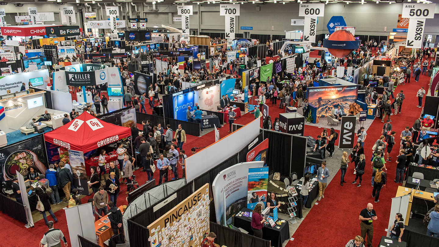 The sxsw trade show your destination for discovery for Craft trade shows 2018