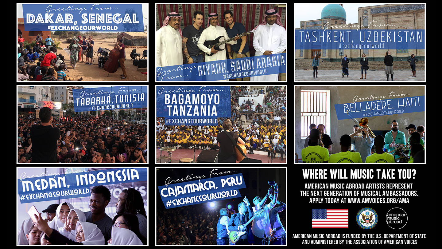 American Music Abroad Now Accepting Applications to Tour the World