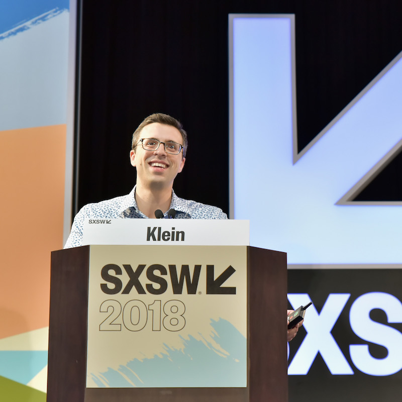 Ezra Klein - Photo by Chris Saucedo