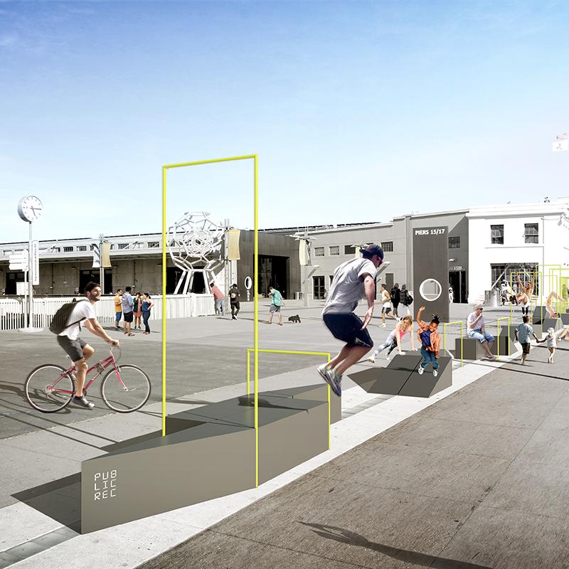 Modular Fitness Hub - 2018 SXSW Place by Design Finalist