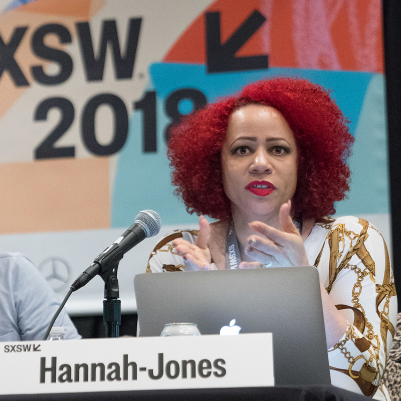 Nikole Hannah Jones at SXSW 2018 - Photo by Kurt Lunsford