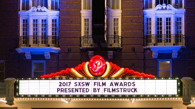 2017 SXSW Film Awards Paramount Marquee