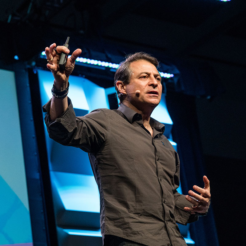 Dr. Peter H. Diamandis Avatars IRL! A New 0M XPRIZE.Competition SXSW 2018 - Photo by Marie Ketring