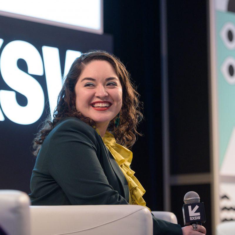 Monica Castillo during the A Critics' Preview to the SXSW Film Festival Session - Photo by Tico Mendoza