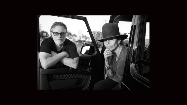 Kerry Brown & Linda Perry - Photo by Kristin Burns