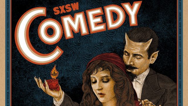 2018 SXSW Comedy Poster