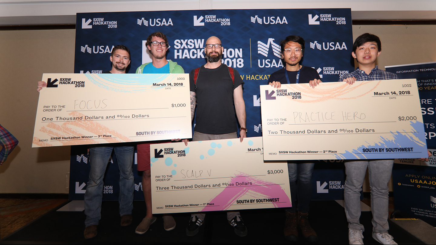 The 2018 SXSW Hackathon Winners
