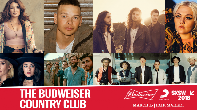 Budweiser Country Club SXSW 2018