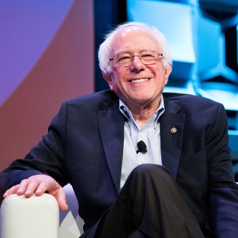 Bernie Sanders - Photo by Kit McNeil