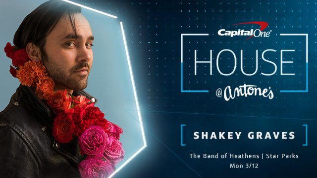 Shakey Graves at Capital One House SXSW 2018