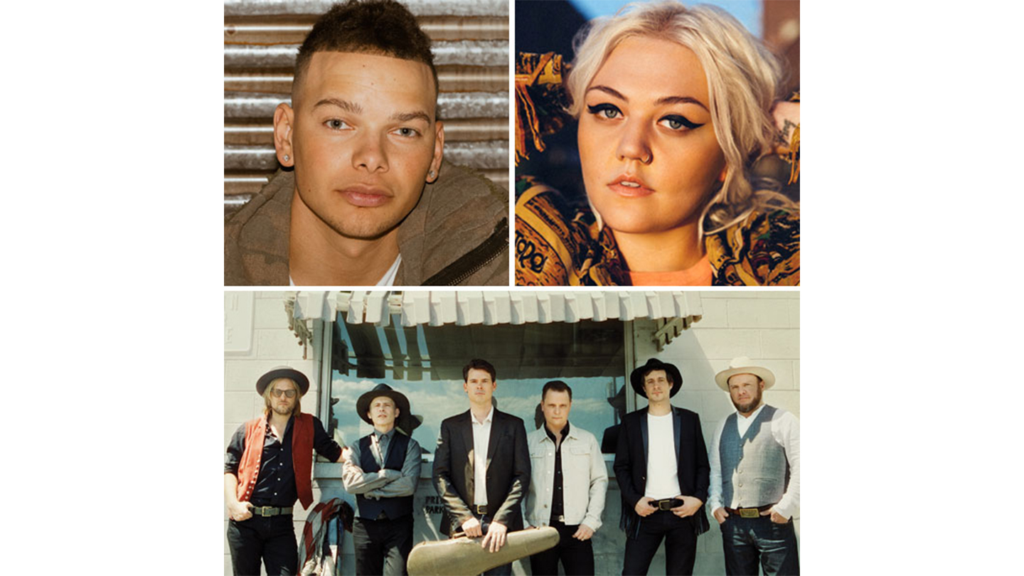 Kane Brown, Elle King, Old Crow Medicine Show - Photos courtesy of Budweiser