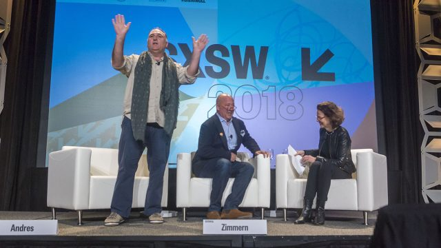 SXSW 2018 Changing the World Through Food Featured Session Food Track - Photo by Luis Bustos