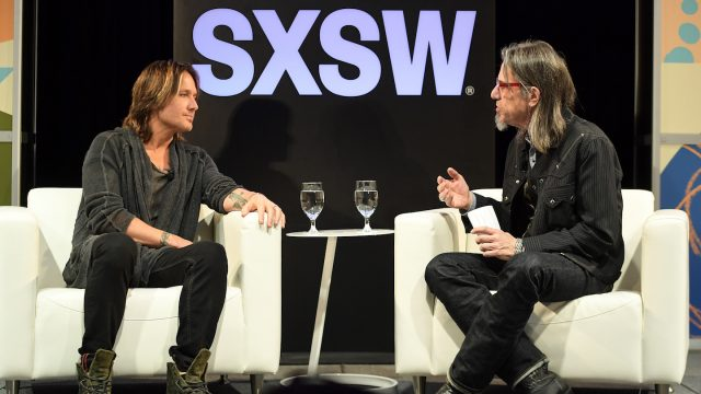Keith Urban and Scott Goldman - Photo by Matt Winkelmeyer/Getty Images for SXSW