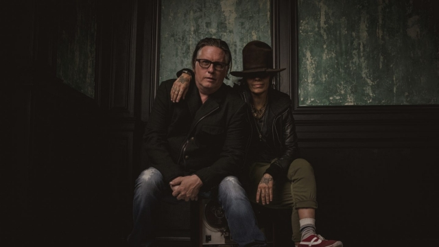 Linda Perry & Kerry Brown - Photo by Dylan O'Connor