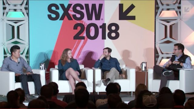 SXSW 2018 Blockchain and the Decentralization of Finance Featured Session - Startup & Tech Sectors Track