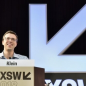 Editor-at-large of Vox Ezra Klein speaks onstage at SXSW Featured Speaker: Ezra Klein during SXSW at Austin Convention Center on March 9, 2018 in Austin, Texas. (Photo by Chris Saucedo/Getty Images for SXSW)