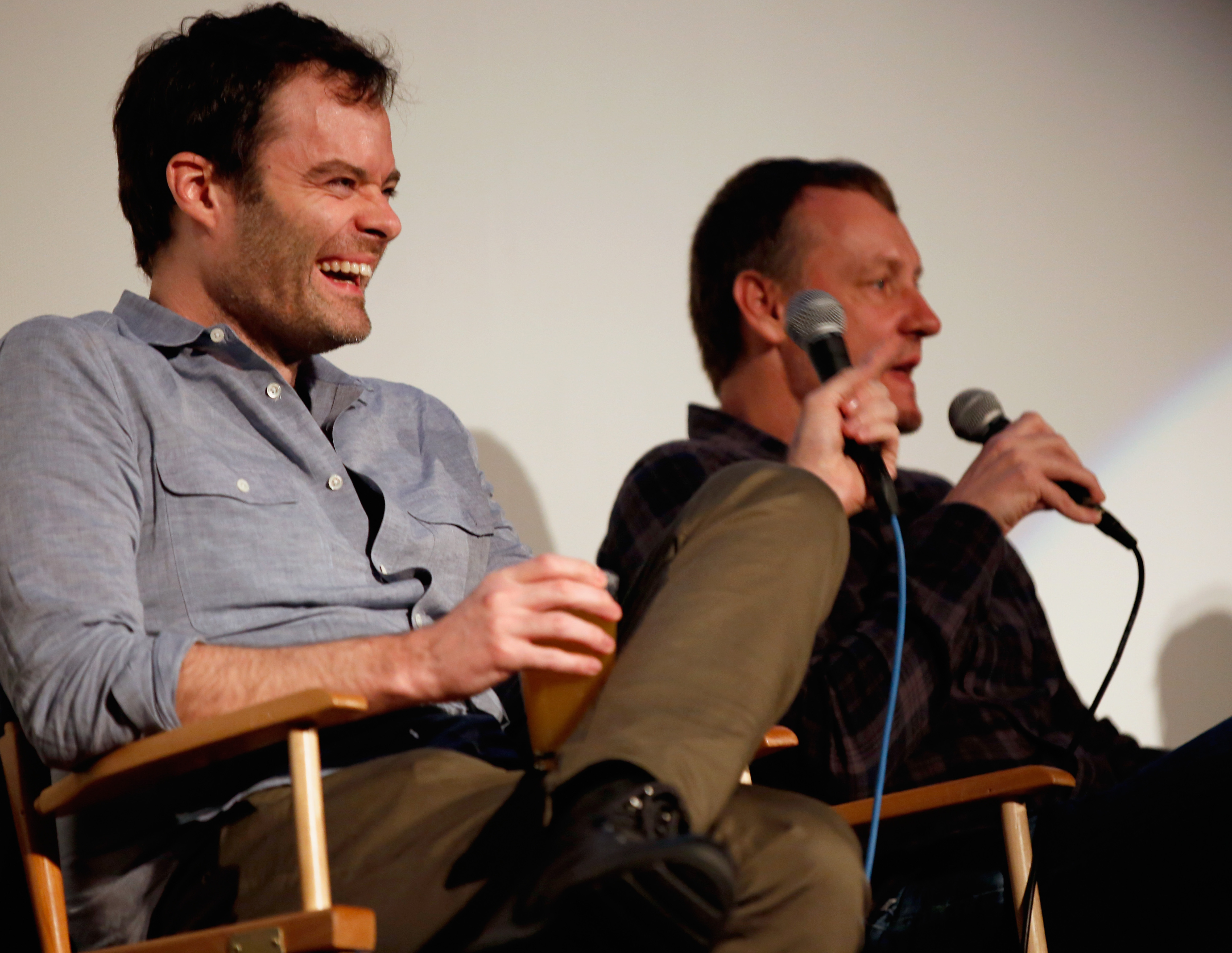 Bill Hader and Alec Berg at the world premiere of Barry | Photo by Sean Mathis/Getty Images