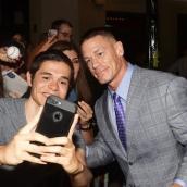 John Cena at the Blockers premiere | Photo by Matt Winkelmeyer/Getty Images