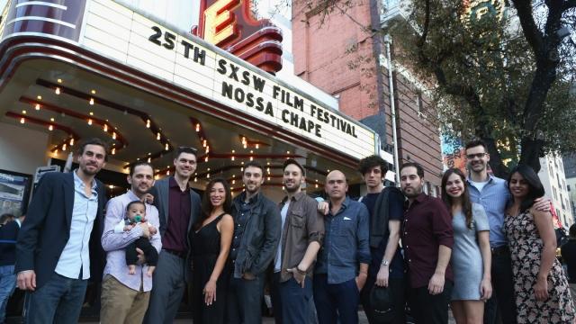 """""""Nossa Chape"""" Premiere at State Theatre"""