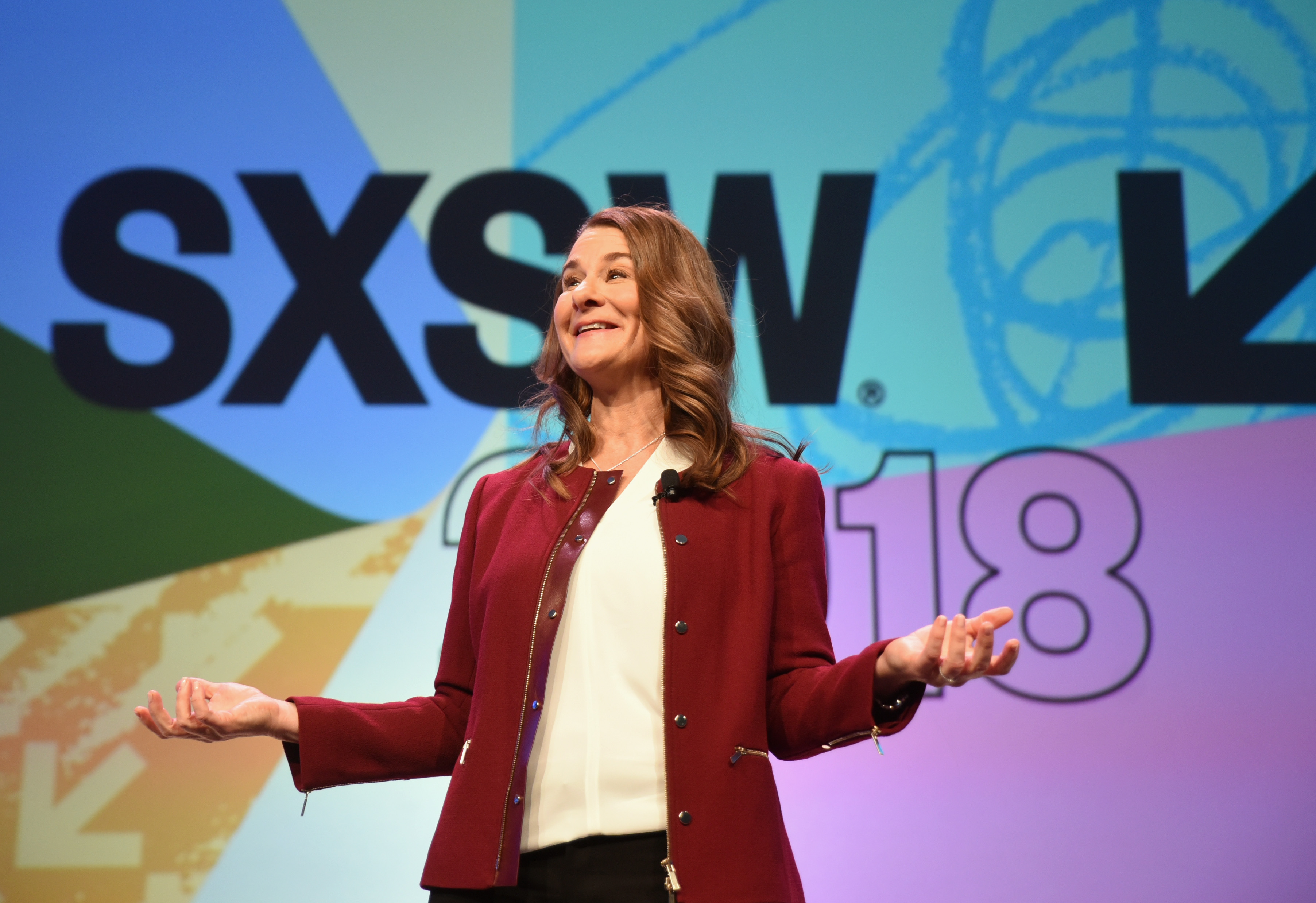 Interactive Keynote Melinda Gates | Photo by Dave Pedley/Getty Images
