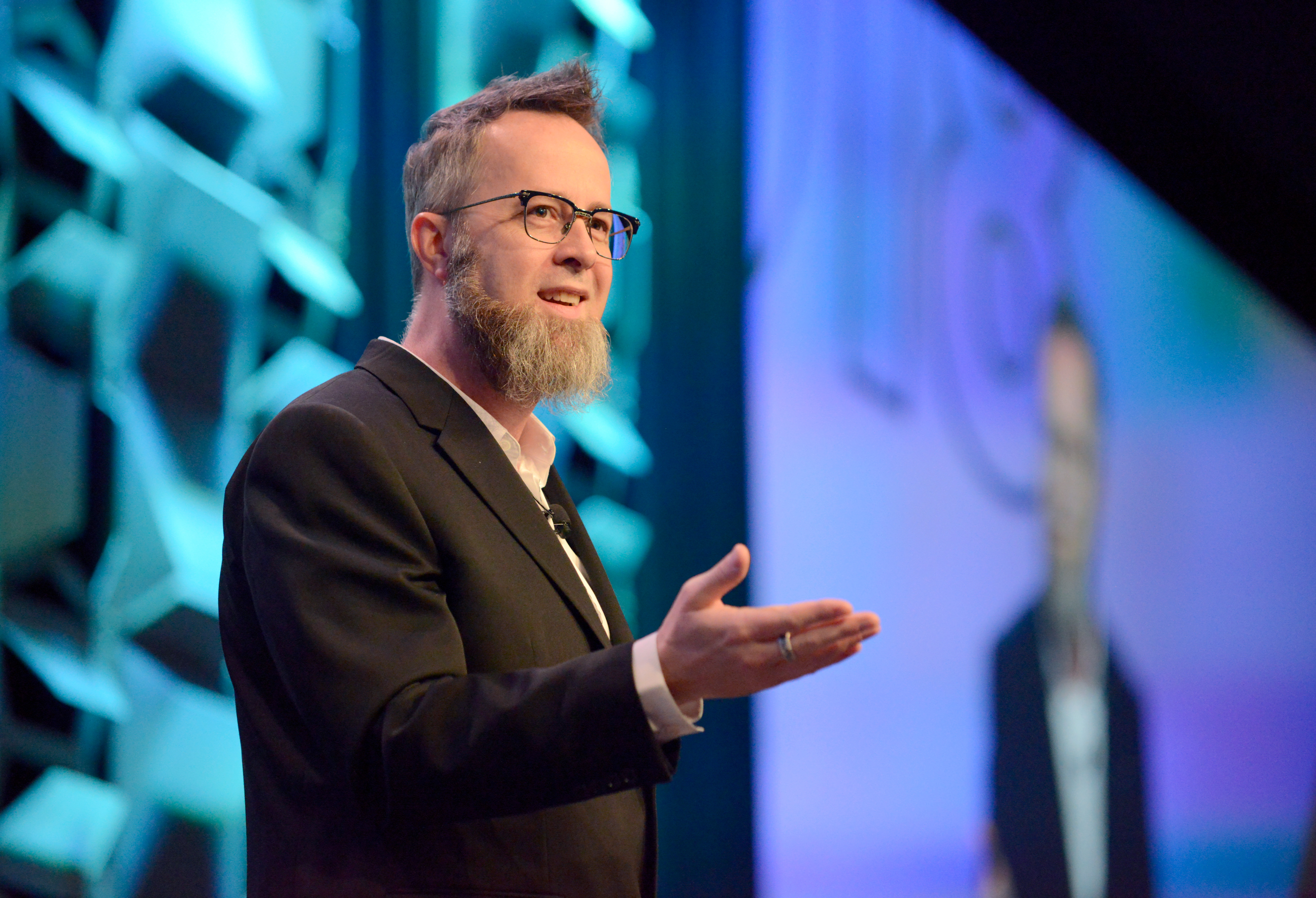 Convergence Keynote whurley | Photo by Nicola Gell/Getty Images