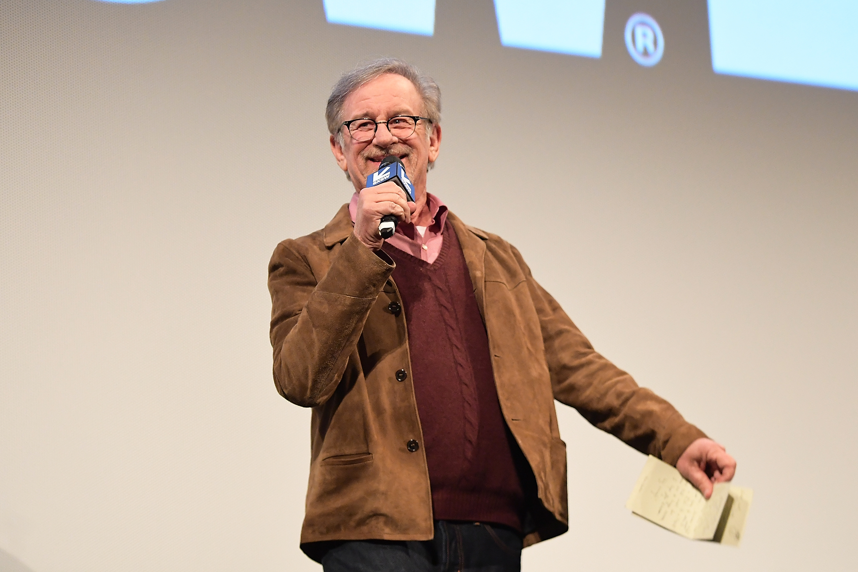 """Steven Spielberg attends """"Ready Player One"""" Premiere 2018 SXSW Conference and Festivals at Paramount Theatre on March 11, 2018 in Austin, Texas. (Photo by Matt Winkelmeyer/Getty Images for SXSW)"""