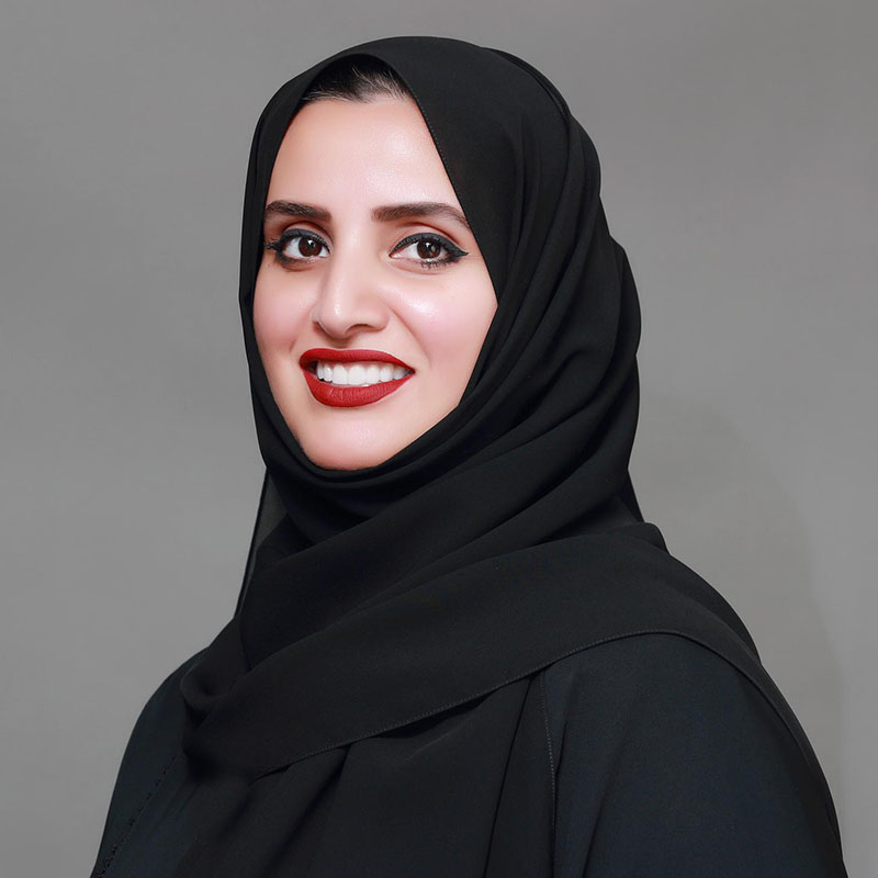 Aisha Bin Bishr, Dr. Blockchain and the Future of Global Governance session SXSW 2018 - Photo Courtesy of Speaker