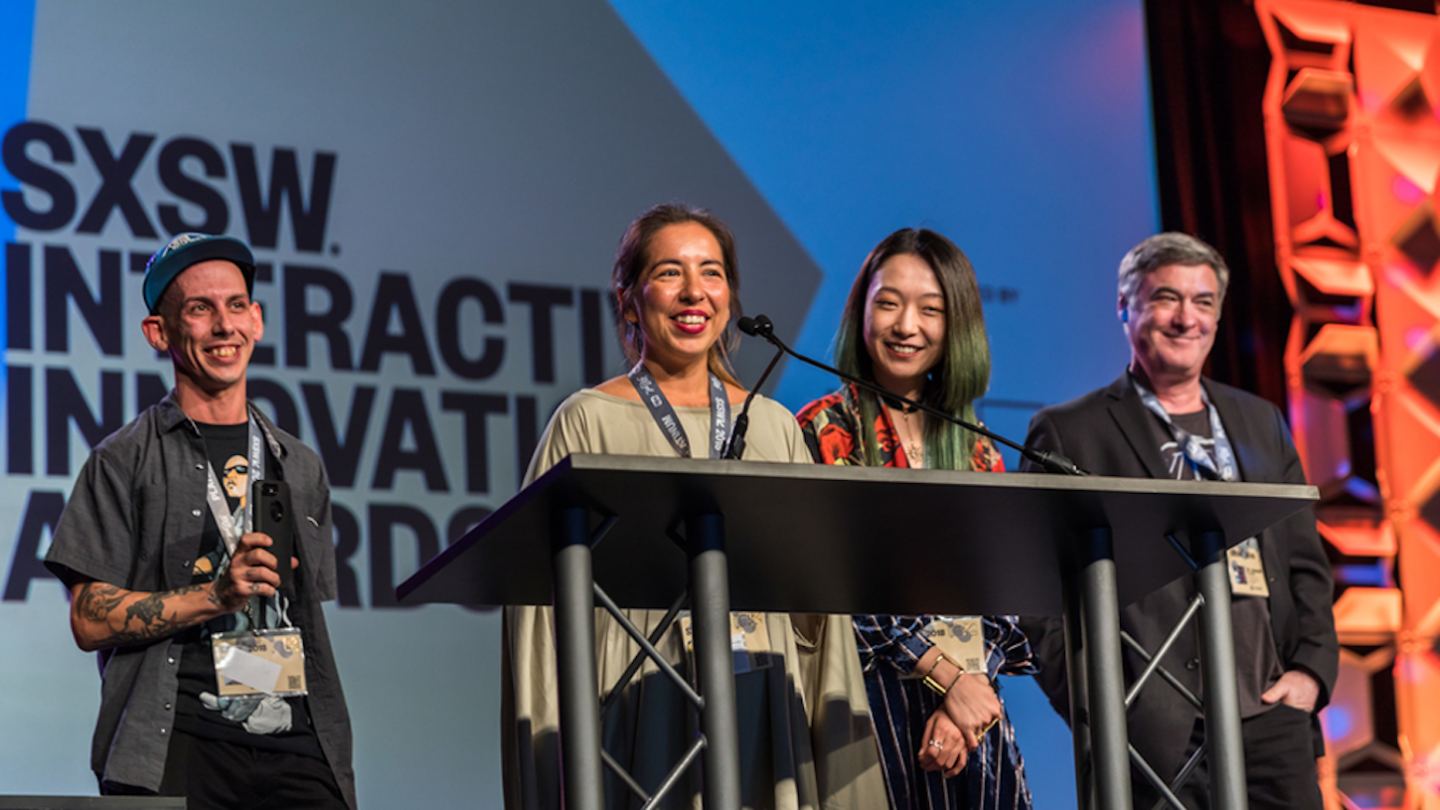 2018 SXSW Interactive Innovation Awards. Photo by Bob Johnson.