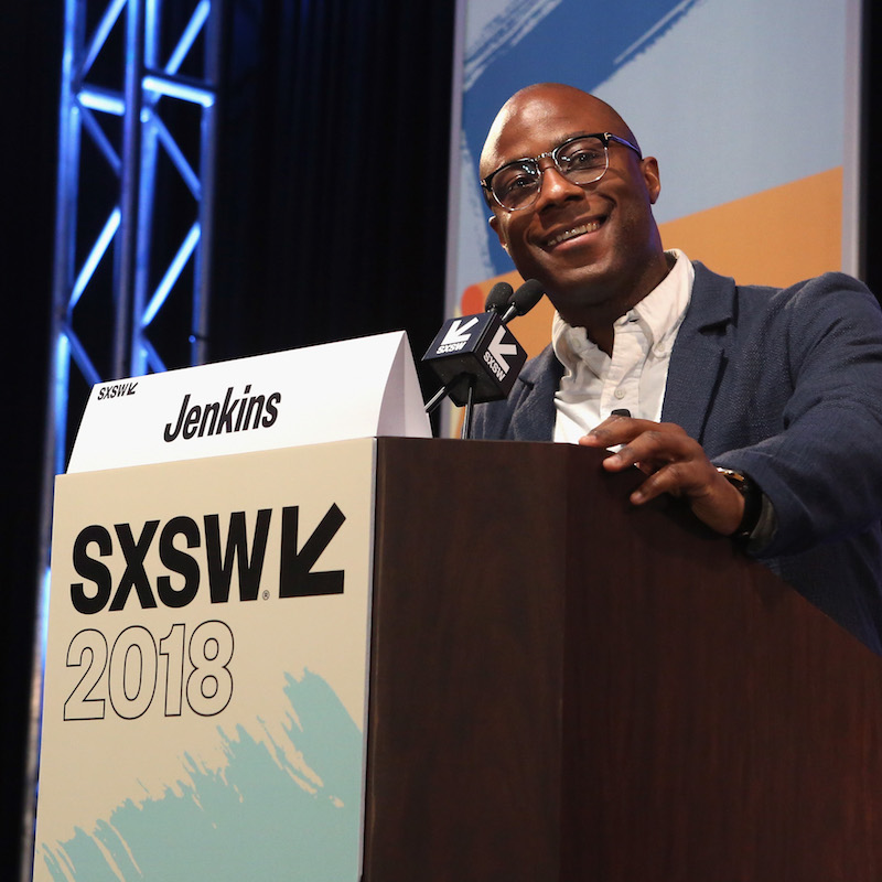 AUSTIN, TX - MARCH 11: Filmmaker Barry Jenkins speaks onstage at the Film Keynote during SXSW at Austin Convention Center on March 11, 2018 in Austin, Texas. (Photo by Travis P Ball/Getty Images for SXSW)