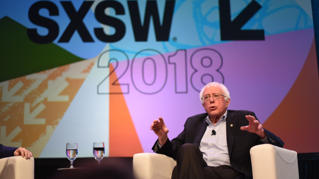 Bernie Sanders at SXSW 2018. Photo by Renee Dominguez.