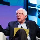 Bernie Sanders | Photo by Kit McNeil