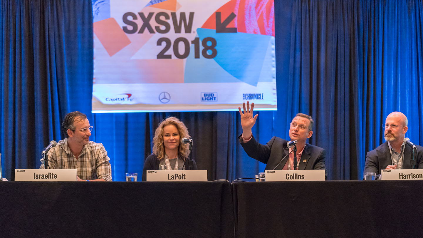 """Music Modernization Act: Changing the Licensing Landscape"" CLE session at SXSW 2018 - Photo by Scott Paxton"