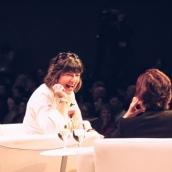 Christiane Amanpour and Kara Swisher | Photo by Kaylin Balderrama