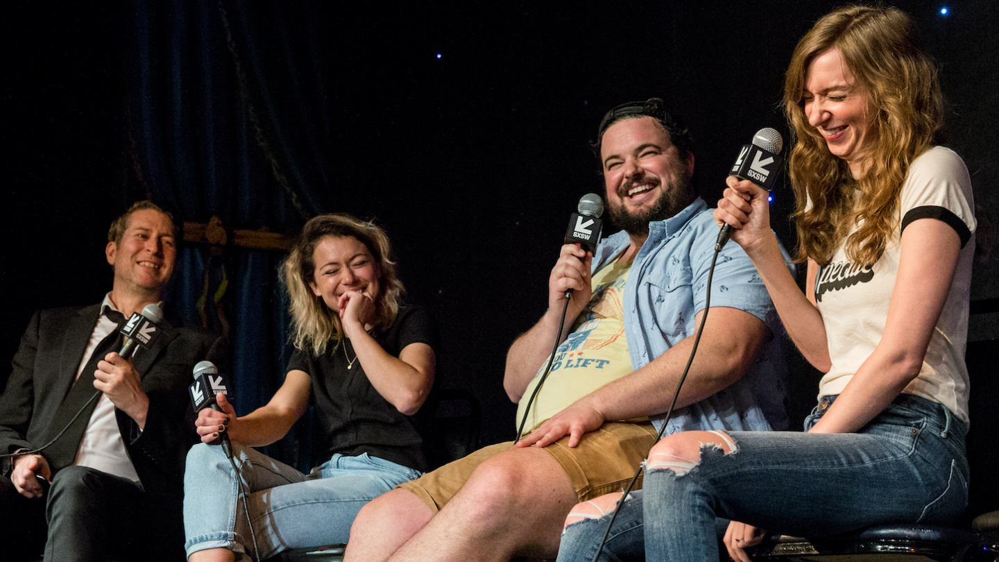 'Comedy Bang Bang' live at the 2018 SXSW Comedy Festival – Photo by Alexa Gonzalez-Wagner