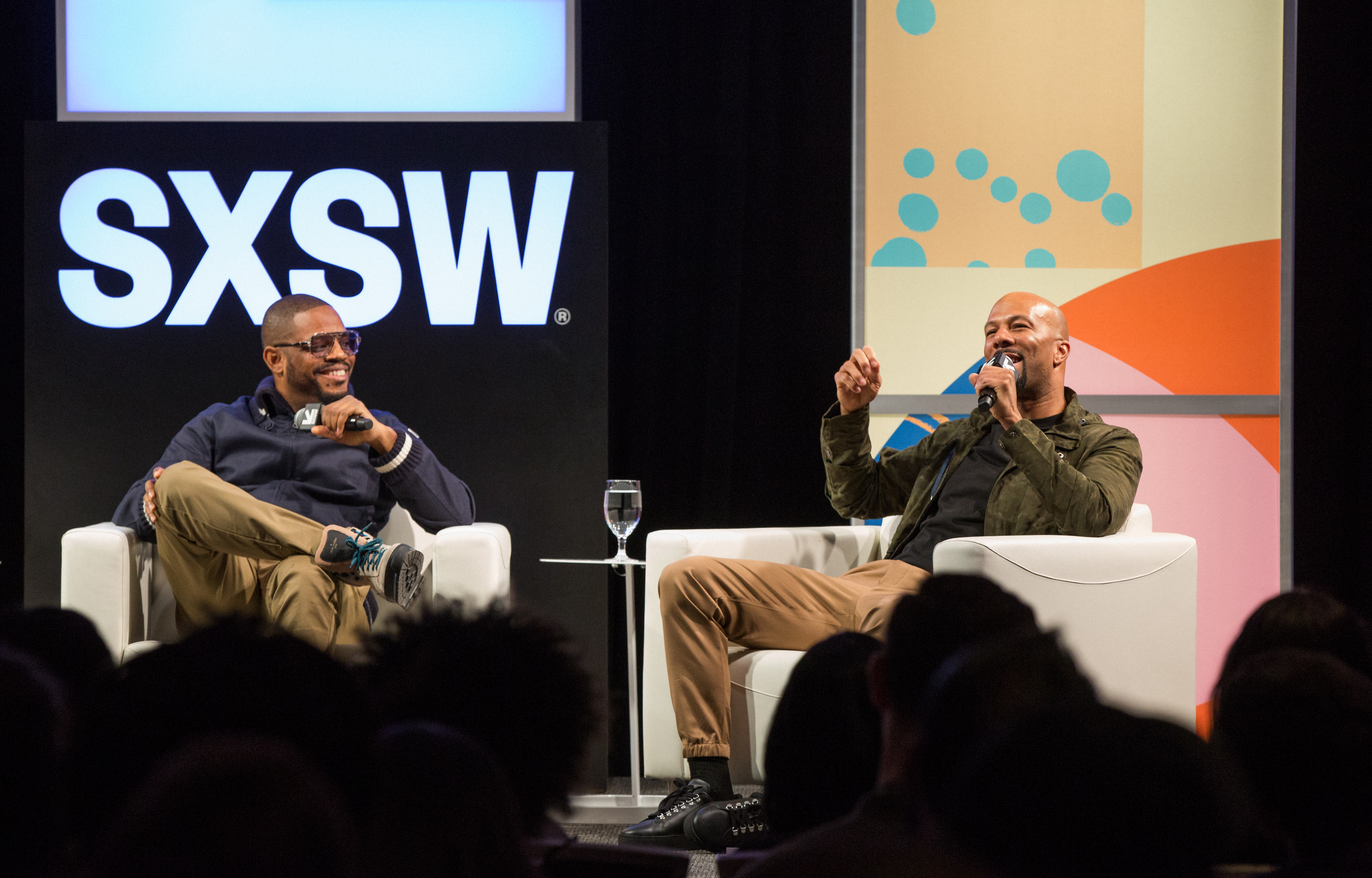 Karriem Riggins and Common | Photo by Akash Kataria