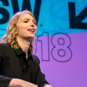 Chelsea Manning | Photo by Jon Currie