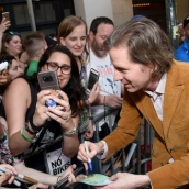 """Writer and director Wes Anderson attends the """"Isle of Dogs"""" premiere during the 2018 SXSW Conference and Festivals at Paramount Theatre on March 17, 2018 in Austin, Texas. (Photo by Michael Loccisano/Getty Images for SXSW)"""