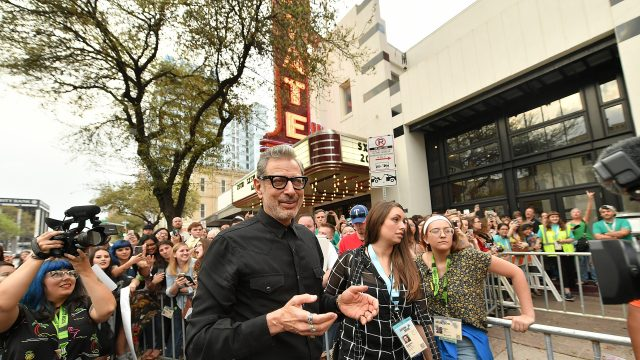 AUSTIN, TX - MARCH 17: Actor Jeff Goldblum attends the