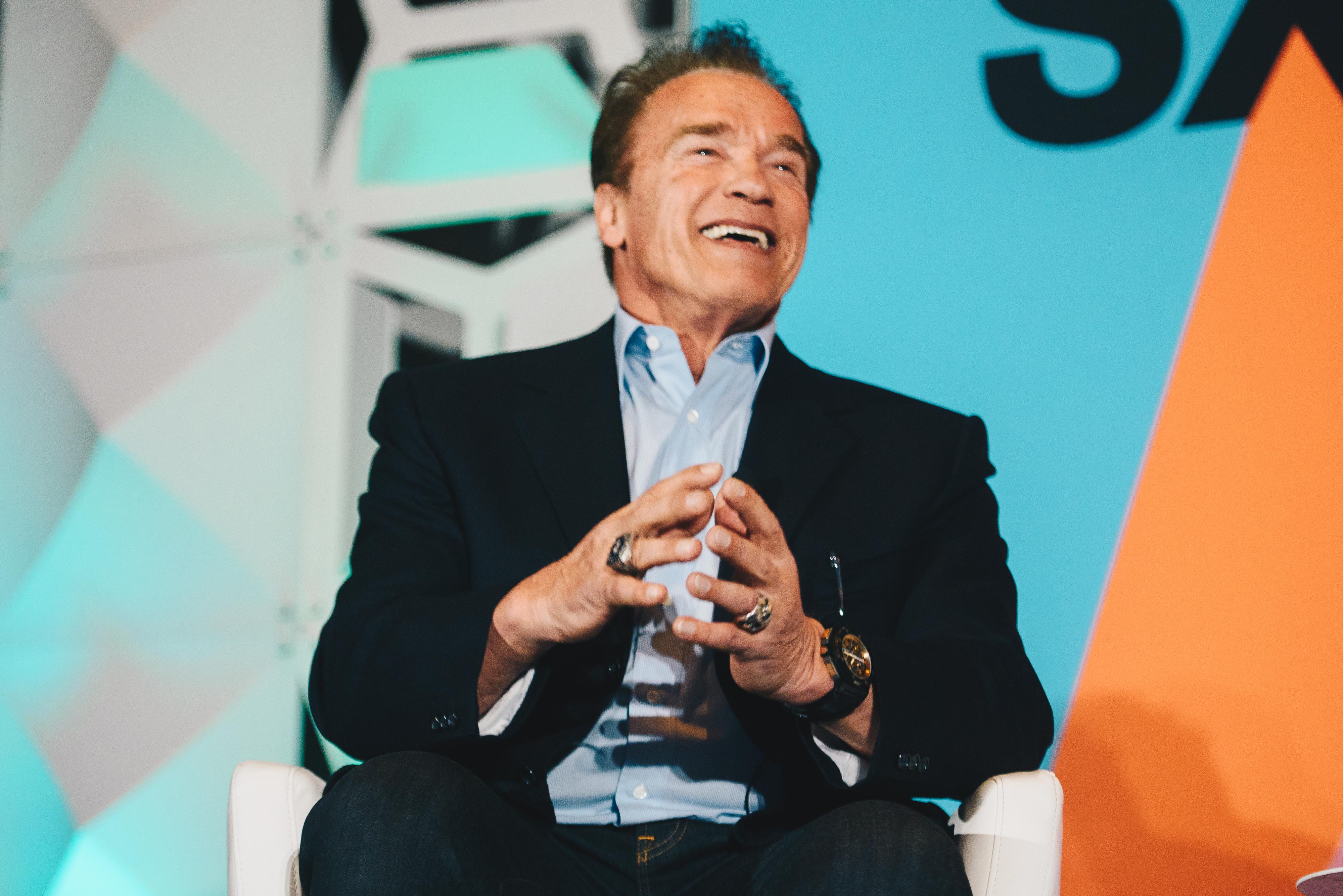 Arnold Schwarzenegger | Photo by Judy Won