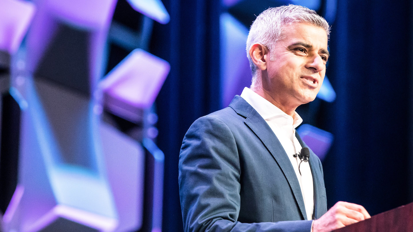 Keynote Speaker Sadiq Khan - Photo by Amanda Cain