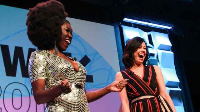 2018 SXSW Featured Speakers Bozoma Saint John & Jo Ling Kent. Photo by Kaylin Balderrama.