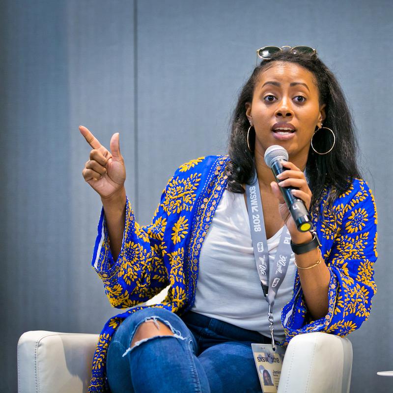 Jamira Burley at the Reimagining Gun Violence Prevention Session